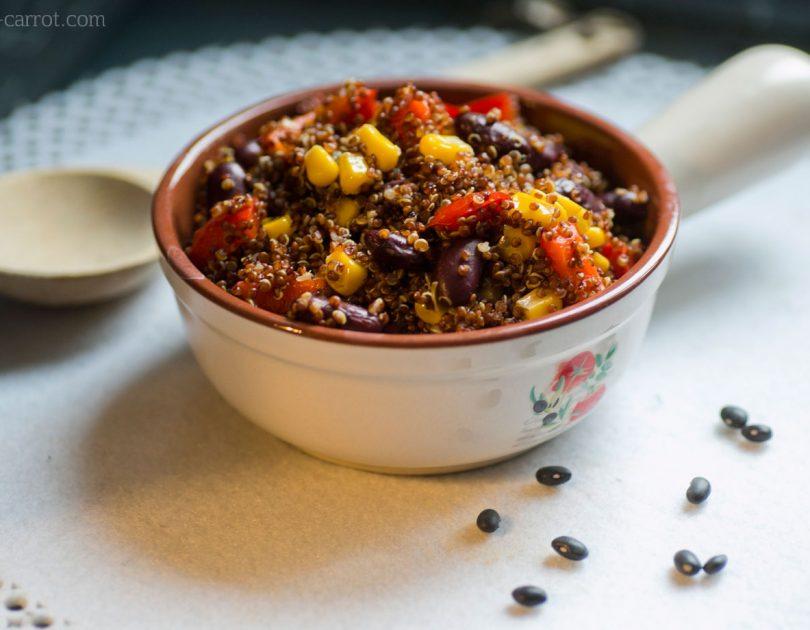 Komosa ryżowa (quinoa) z fasolą