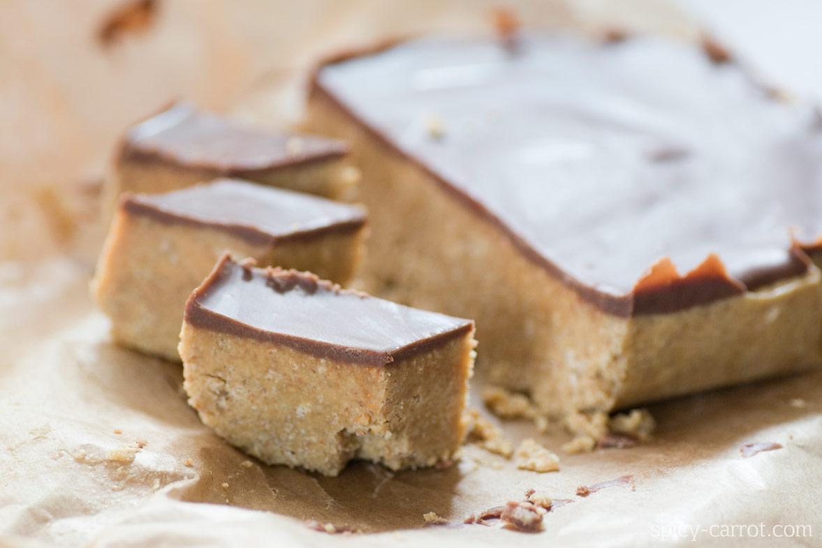 Ciastka z masłem orzechowym i czekoladą