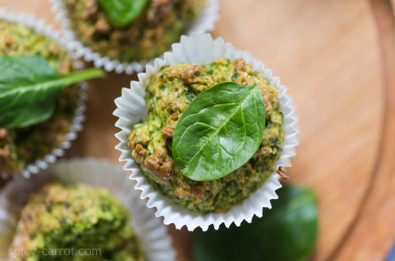 Zielone muffiny